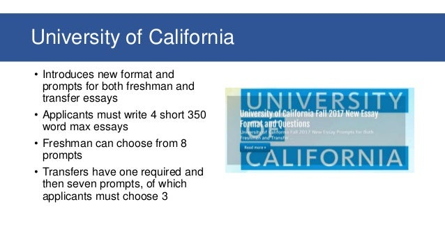 Uc Application Essay Prompts
