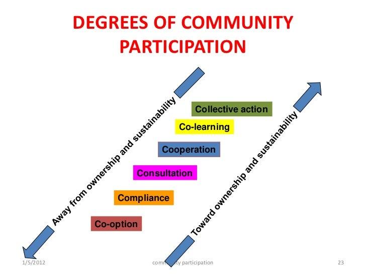 Community involvement essay