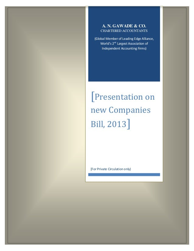 New Companies Act 2013 highlights