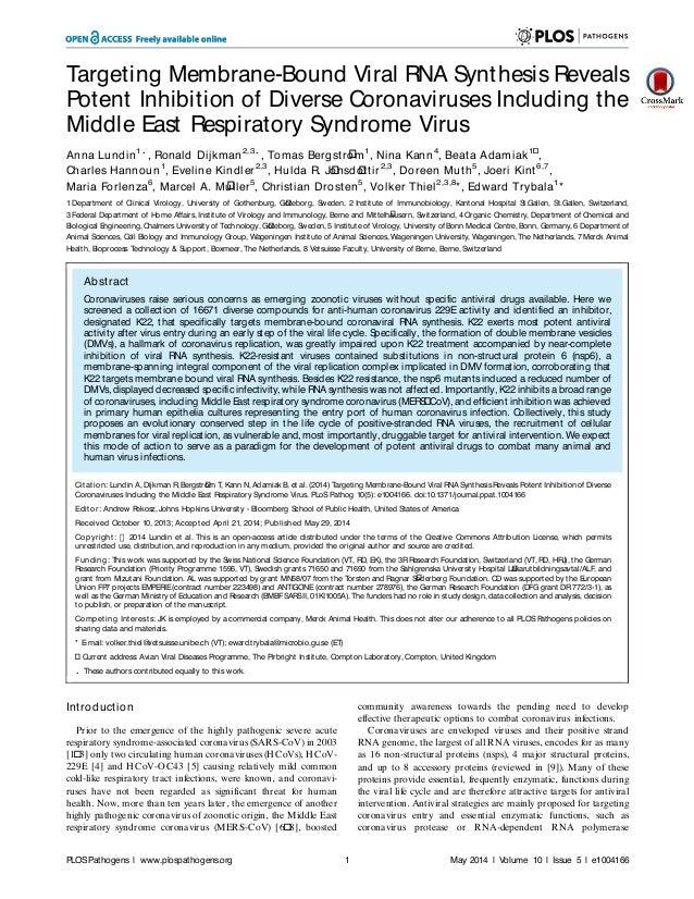 New coronavirus inhibitor exhibits antiviral activity