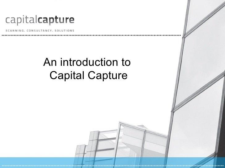 Capital Capture Corporate Overview