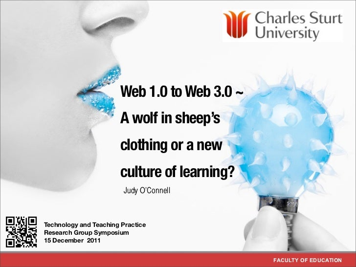 Web 1.0 to Web 3.0 ~                           A wolf in sheep's                           clothing or a new              ...