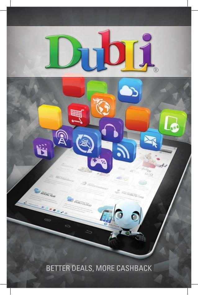 DubLi Customer Brochure - Get Paid to Shop