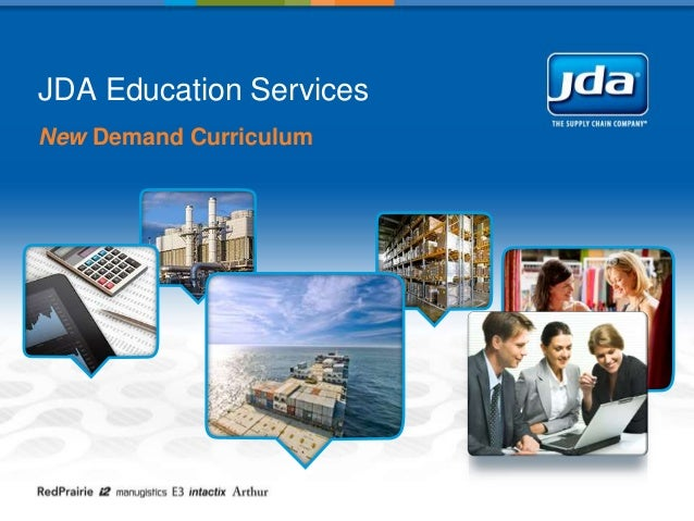 JDA Education Services New Demand Curriculum