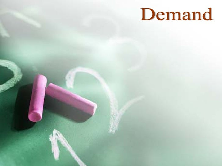 New demand ppt