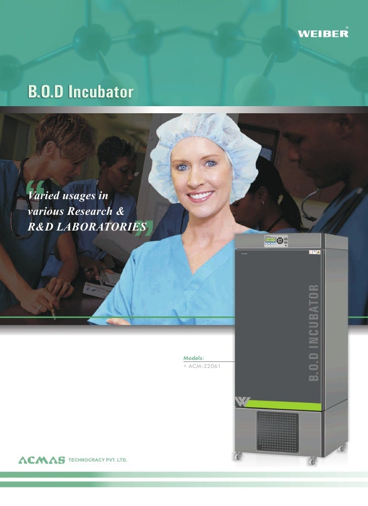 Types of BOD Incubator by ACMAS Technologies Pvt Ltd.