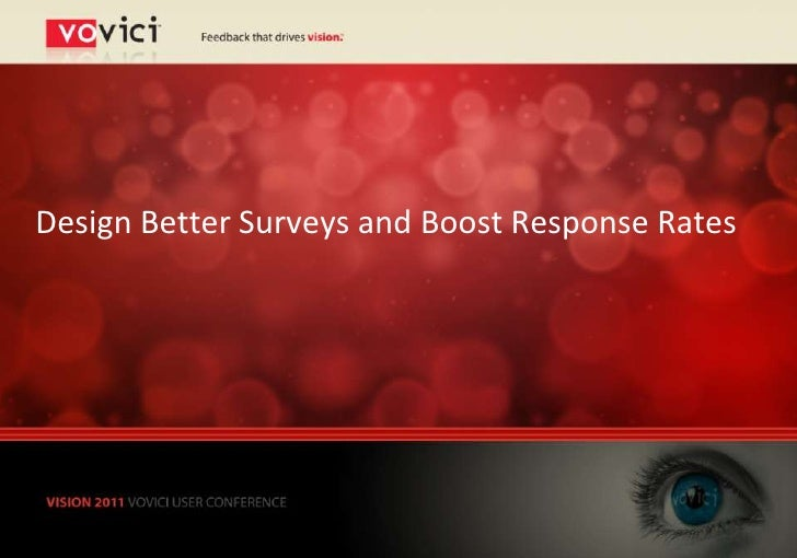 Design Better Surveys and Boost Response Rates
