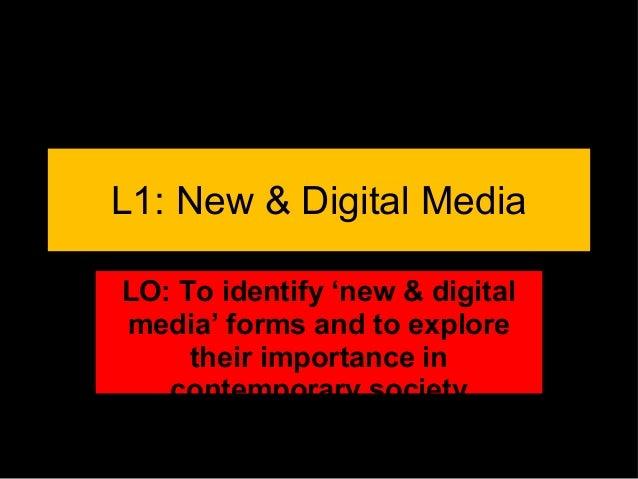 New digital media lessons