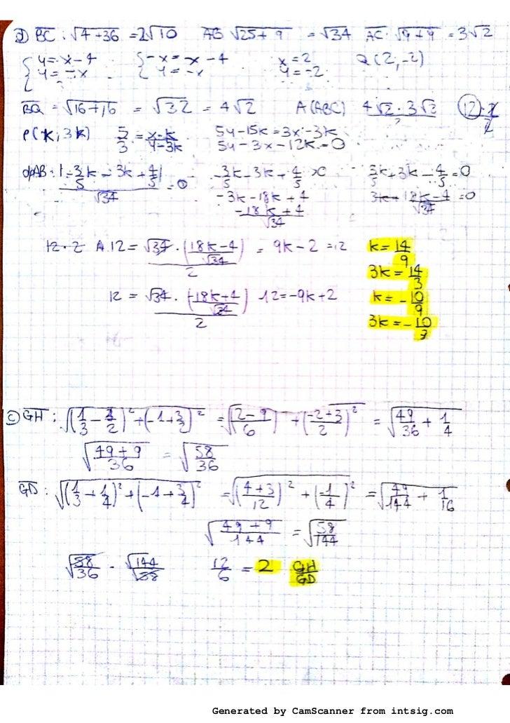 compiti mate