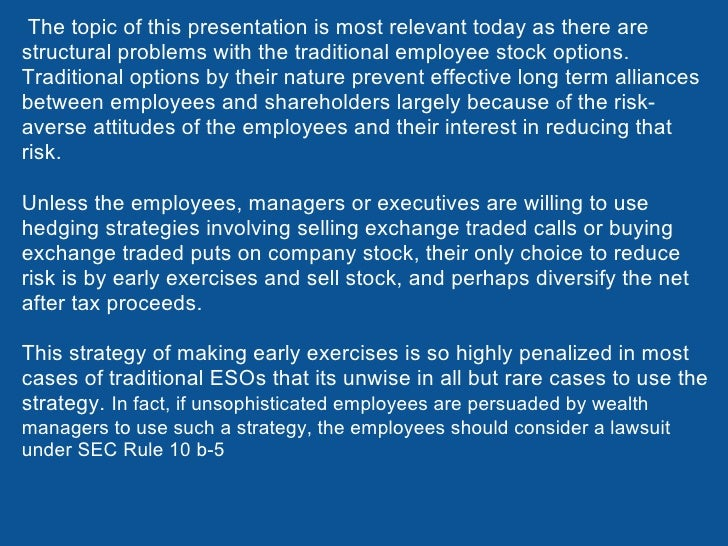 Employee stock options taxable