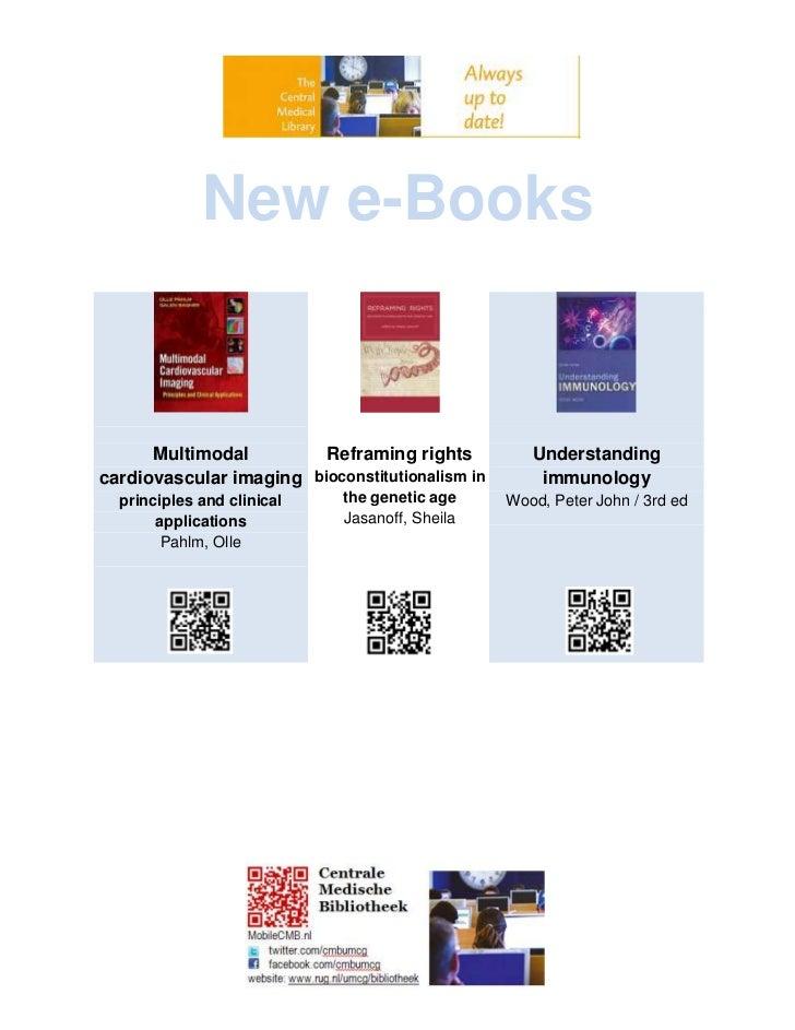 New e books okt-nov 2011