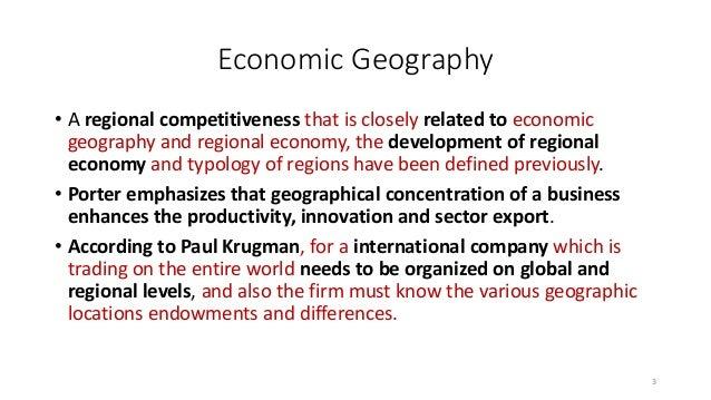 new economic geography: