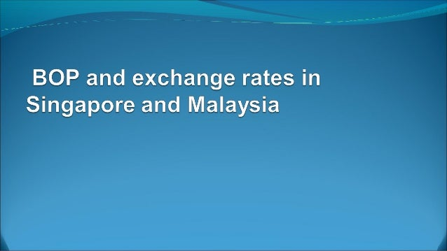 Forecast of BOP in Singapore  21 November 2013. The Ministry of Trade and Industry (MTI) announced  today that it expect...