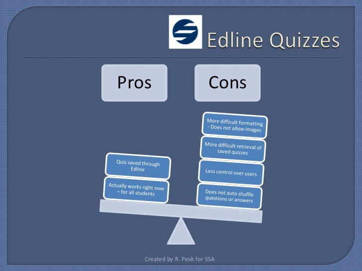 New Edline Features
