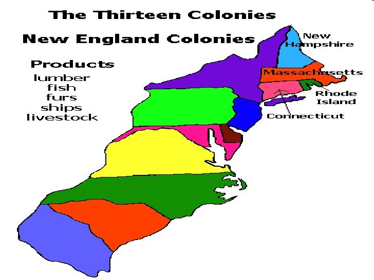thirteen colonies and new england In the new england colonies, the puritans built their society almost entirely on the precepts of the bible the puritans, in particular, valued education, because.