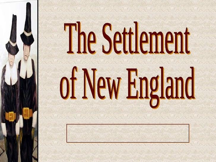 New England Colonization