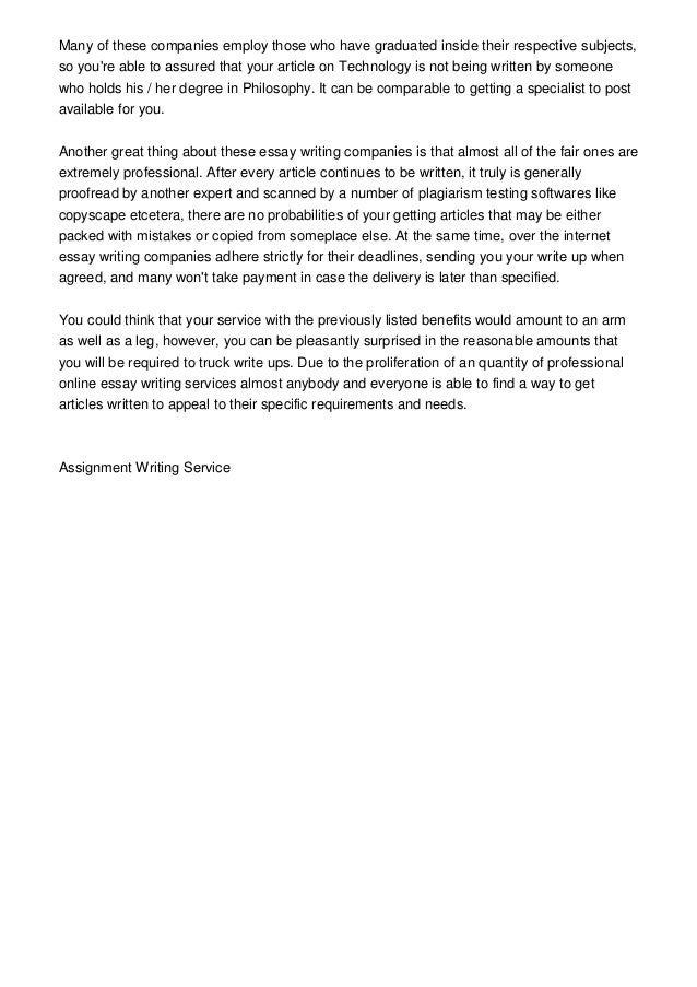 Essay typer for high school