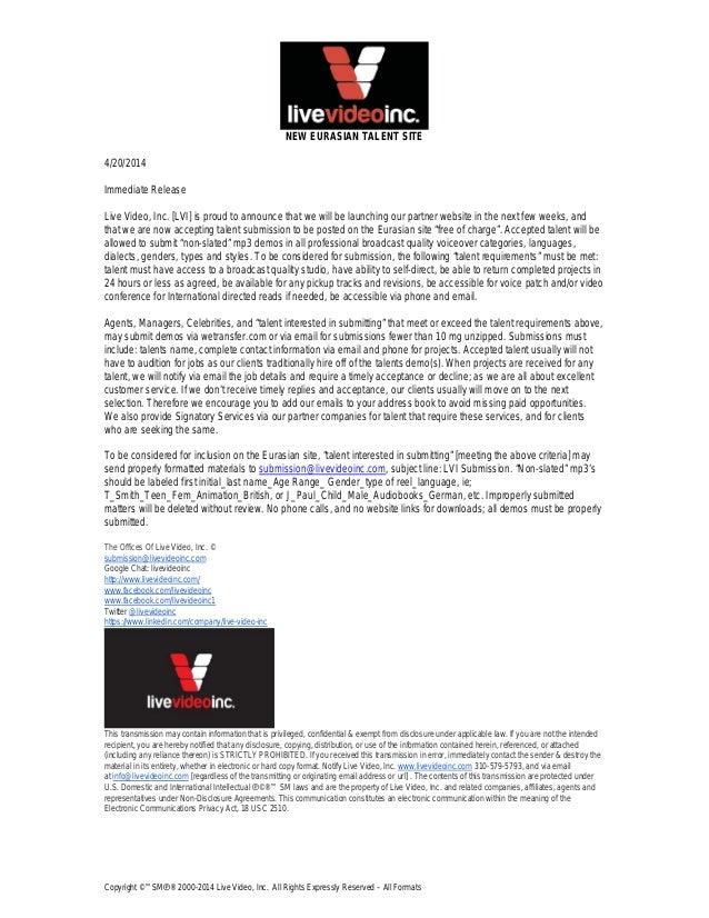 New eurasian talent site 20140420