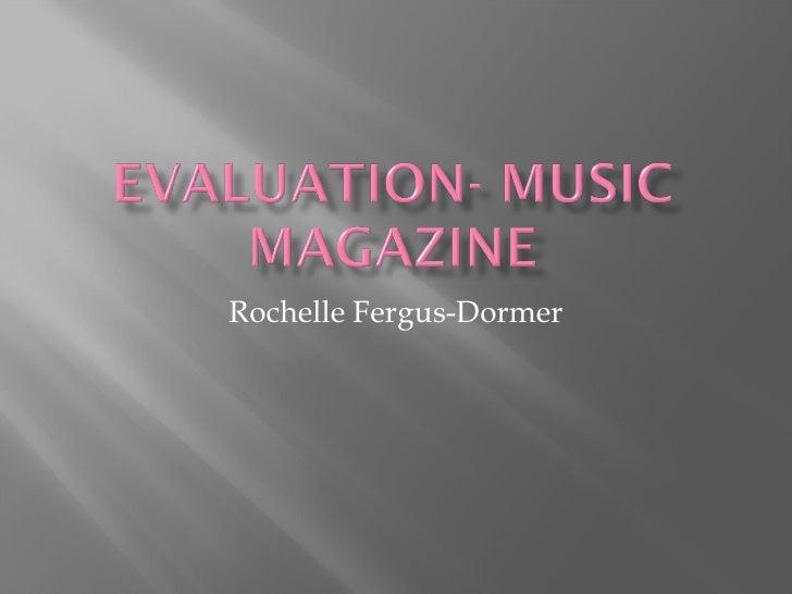 Rochelle Fergus-Dormer