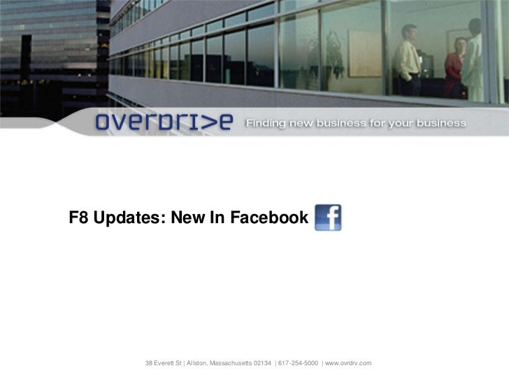 f8 2011 Facebook Update for Businesses