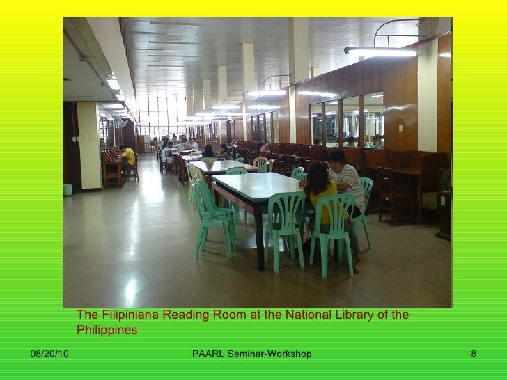 National Library of the Philippines have journals?