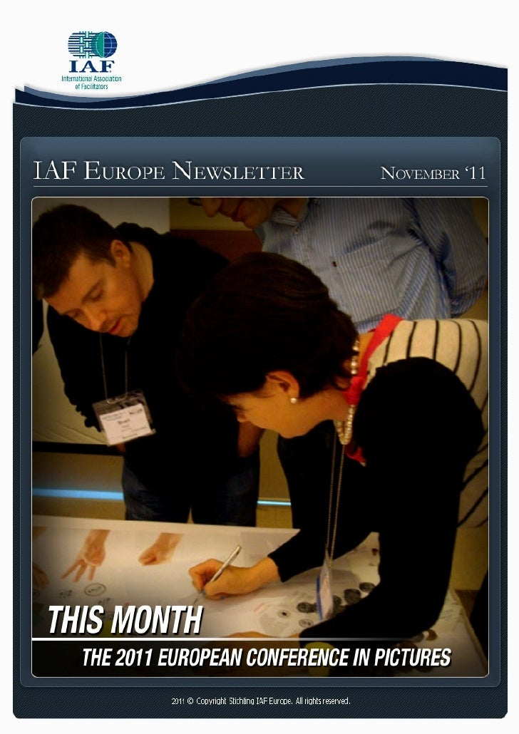 IAF Europe Newsletter   Jan. 2010