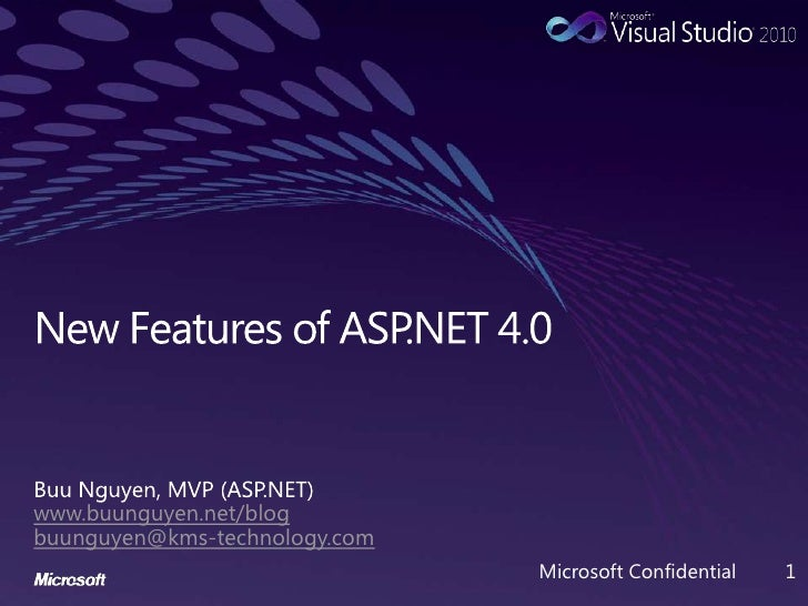 New Features of ASP.NET 4.0
