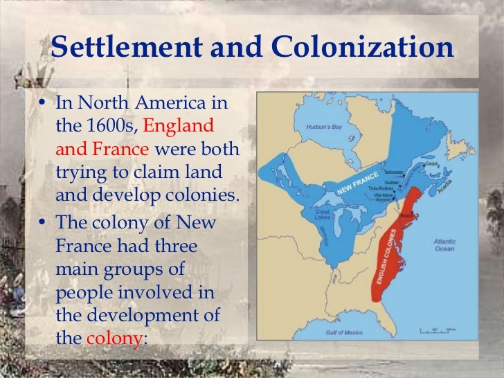 colonization in north america Timeline of the european colonization of north america this is a chronology and timeline of the colonization of north america, with founding dates of selected.