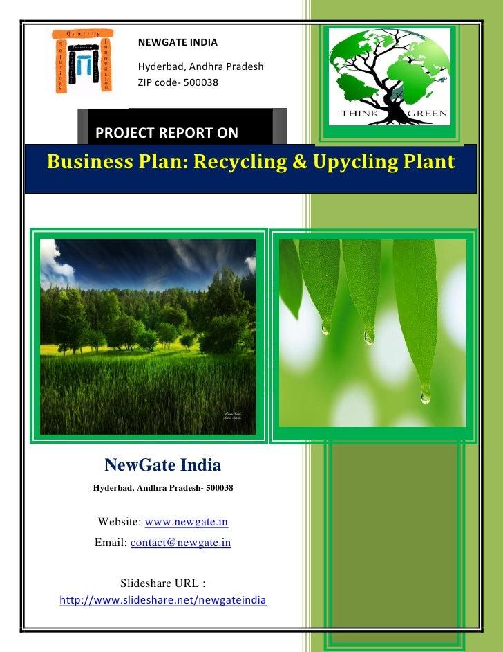 NEWGATE INDIA                 Hyderbad, Andhra Pradesh                 ZIP code- 500038       PROJECT REPORT ONBusiness Pl...