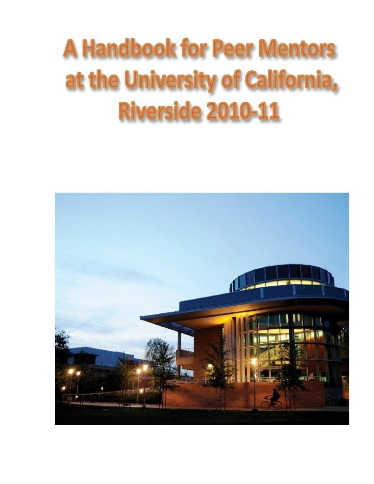 A Handbook for Graduate Student Mentors