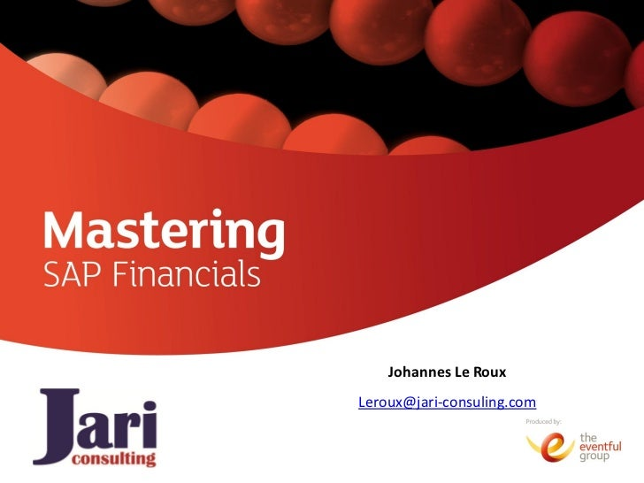 Johannes Le RouxLeroux@jari-consuling.com