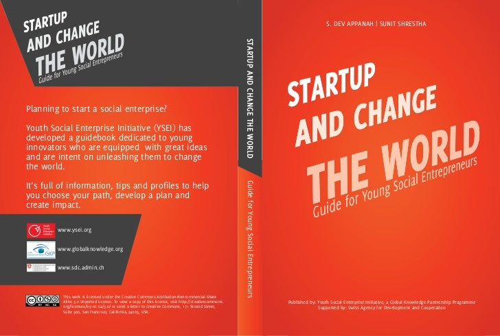 Startup & Change the World: Guide for Young Social Entrepreneurs