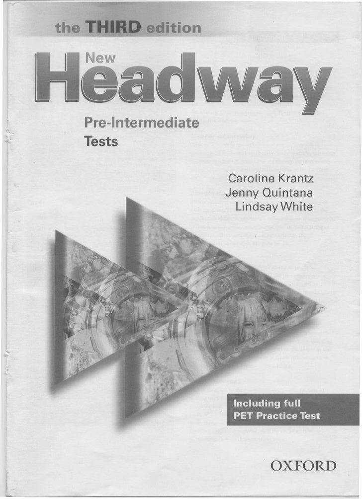 Учебник Headway Pre-Intermediate Cмотреть