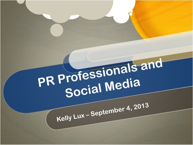PR and Social Media: Two Things That Go Great Together