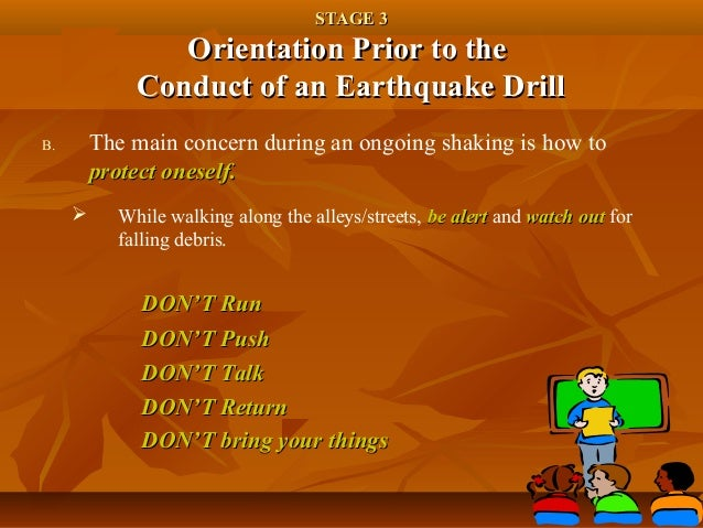 How to Conduct an Earthquake Drill