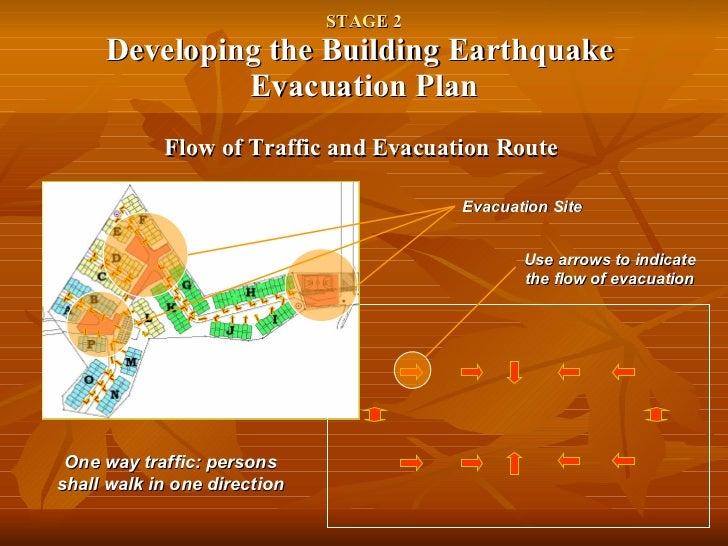 Earthquake Evacuation Plan Earthquake Evacuation Plan