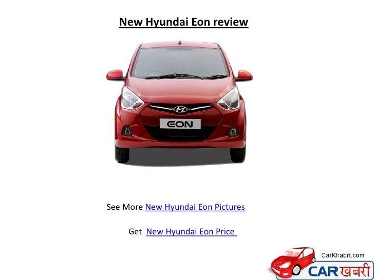 New Hyundai Eon review