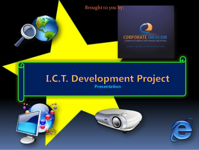 ICT presentation with new products
