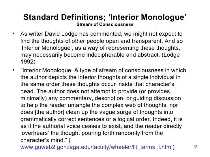 a monologue short monologue essay