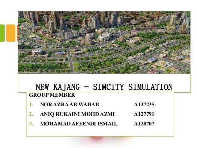 New kajang – simcity simulation