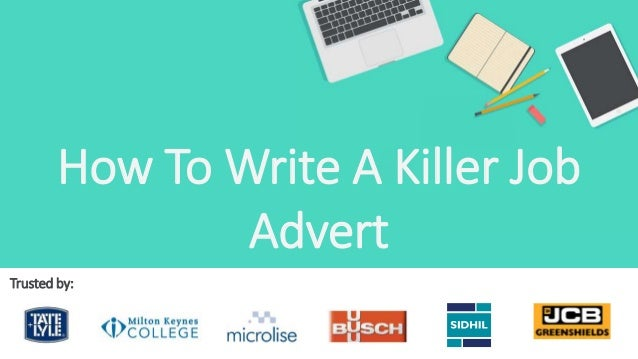 How to write a recruitment advert