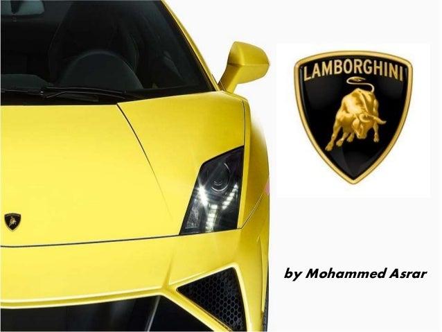 Lamborghini Strategy