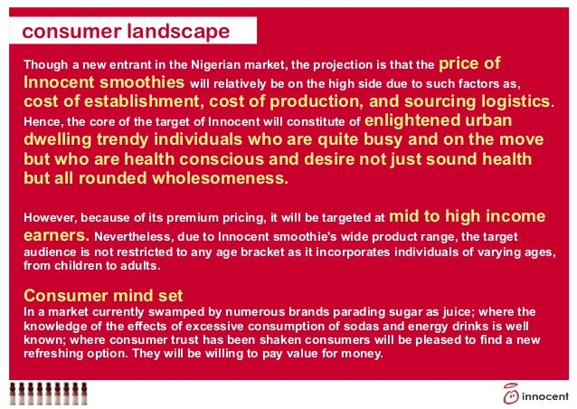 innocent drinks pricing strategy Full-text (pdf)   the marketing strategy of innocent drinks.