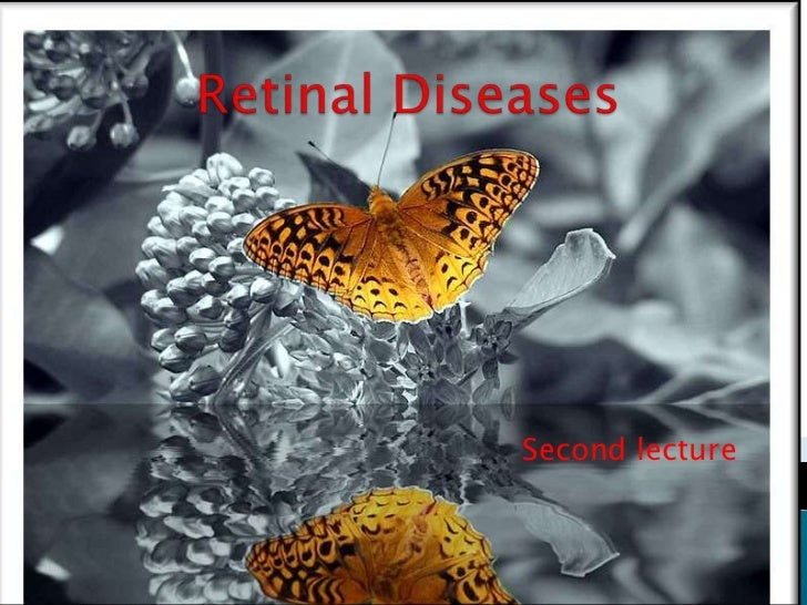 Retinal Diseases<br />Second lecture<br />
