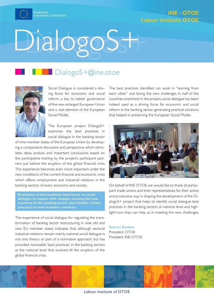 Newsletter Dialogos+ Eng