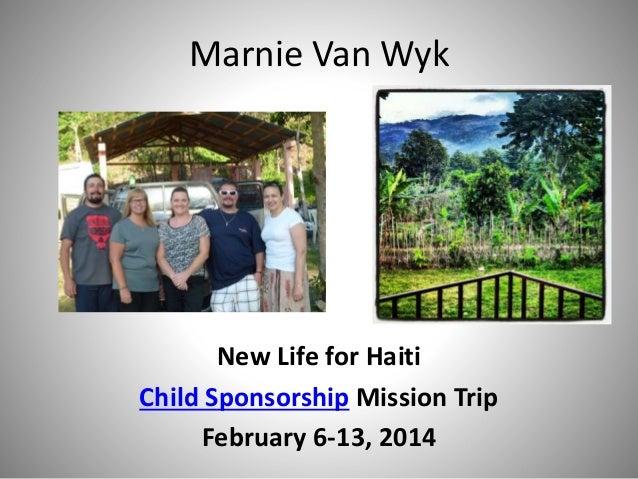 New Life For Haiti Child Sponsorship Mission Trip
