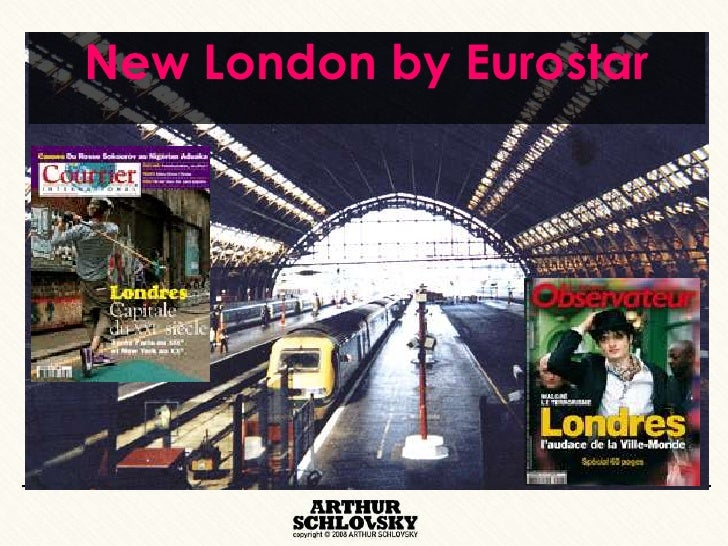 New London by Eurostar