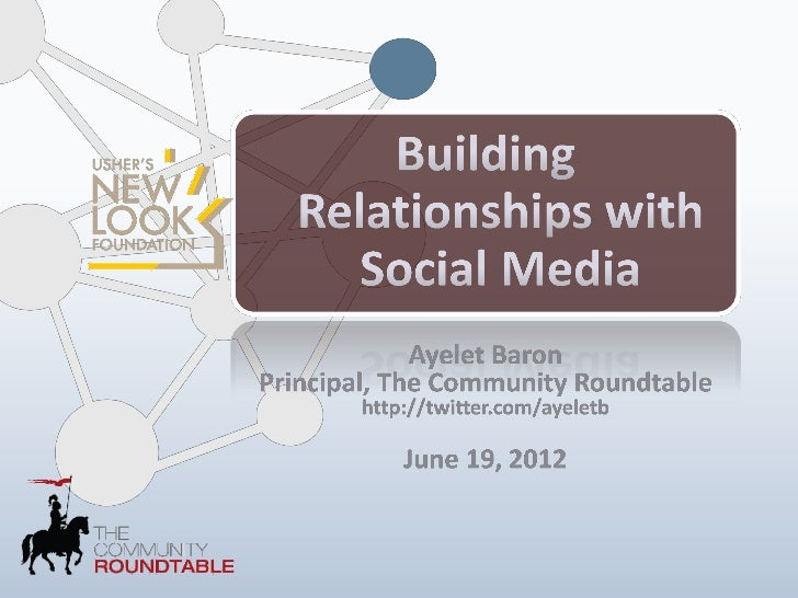 How to Build Relationships with Social Media