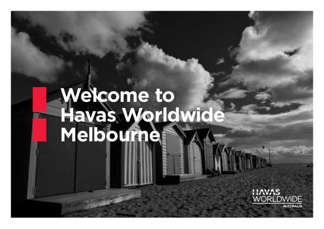 Welcome to Havas Worldwide Melbourne
