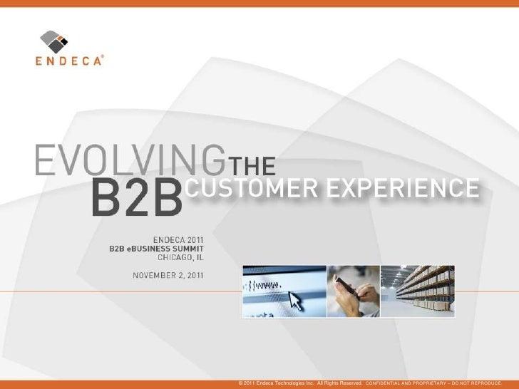 Endeca B2B Summit 2011